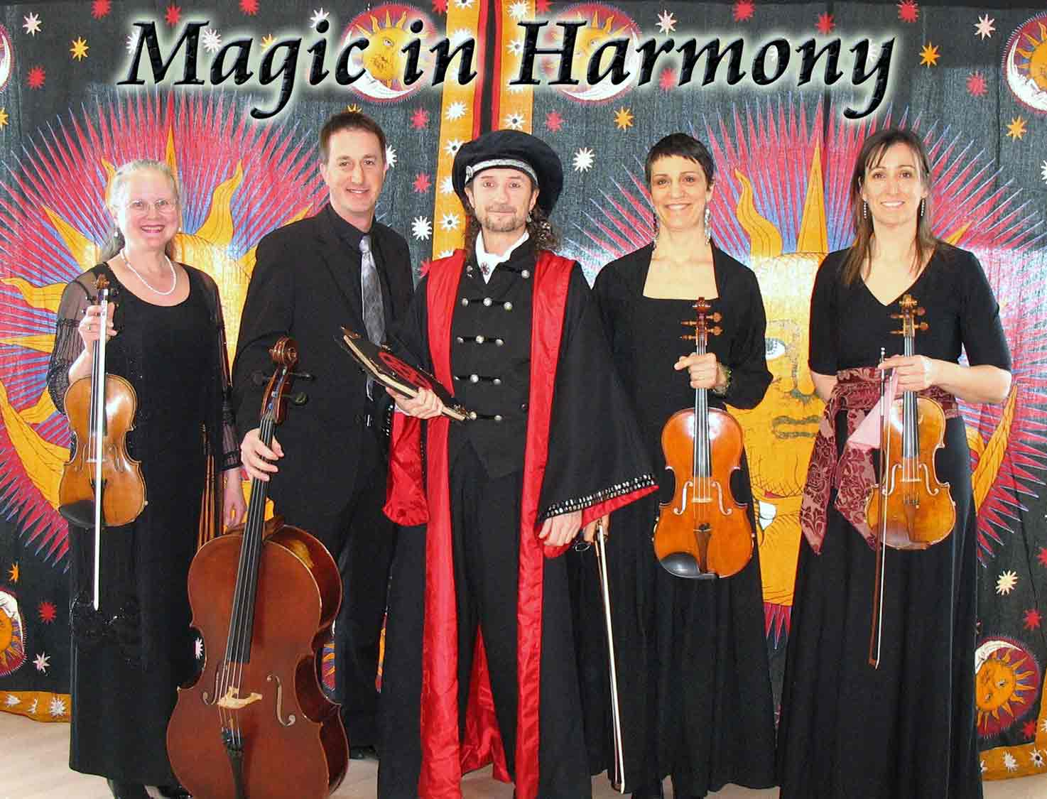 l'illusionniste Loran - Biographie - Spectacle Magic in Harmony avec les musiciens de I Musici