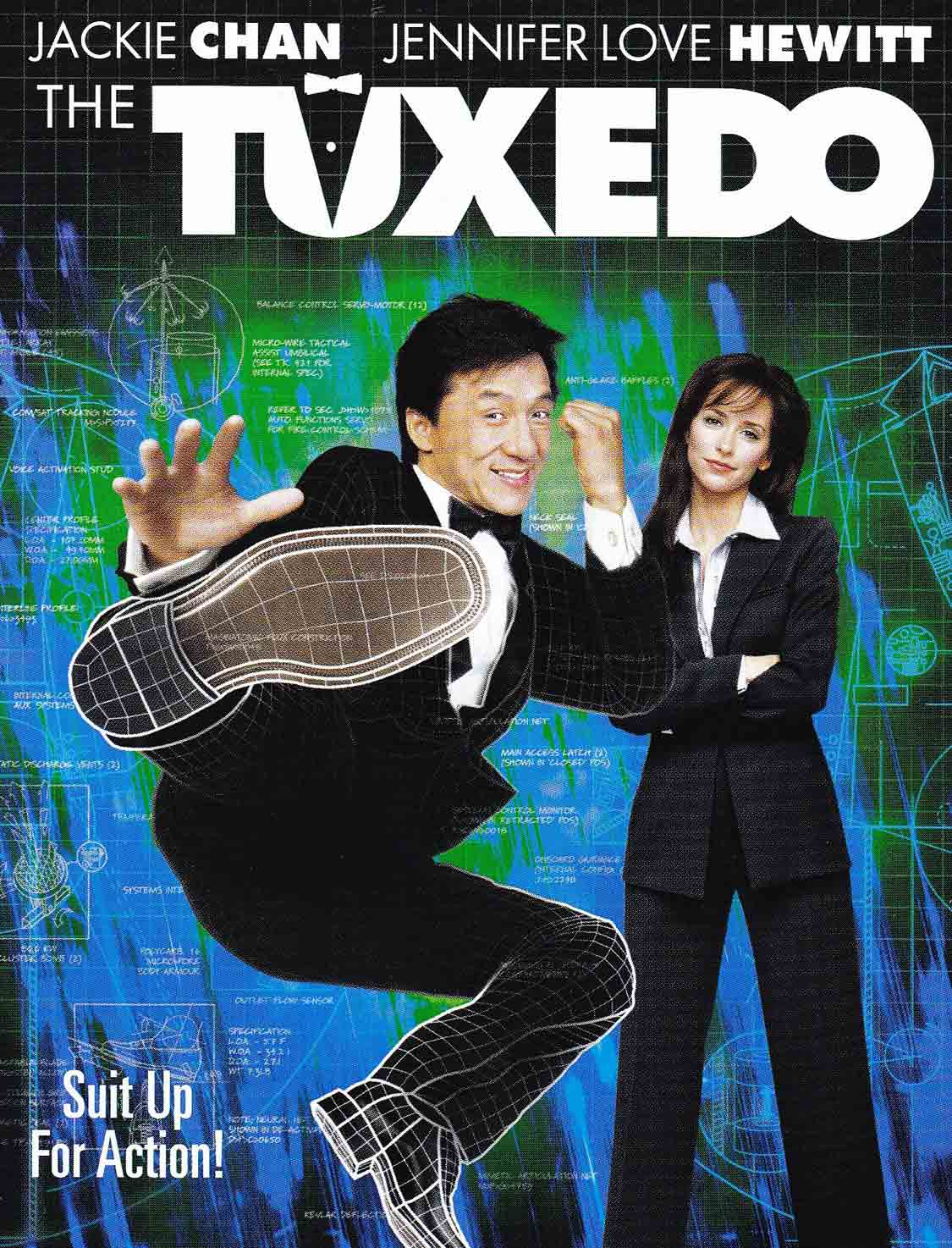 The illusionist Loran - Biography - Consultant for Jackie Chan in the movie The Tuxedo