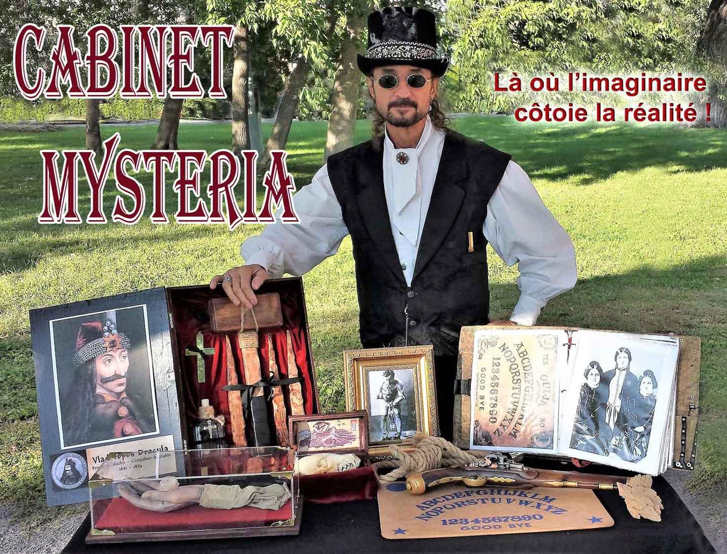 Cabinet des Curiosités Mysteria