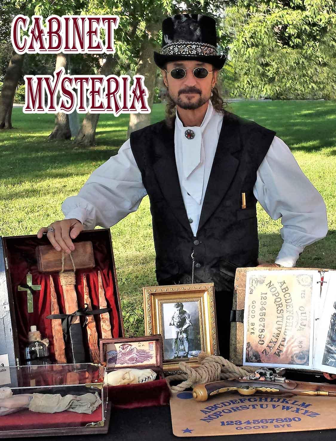 Cabinet des Curiositées Mysteria