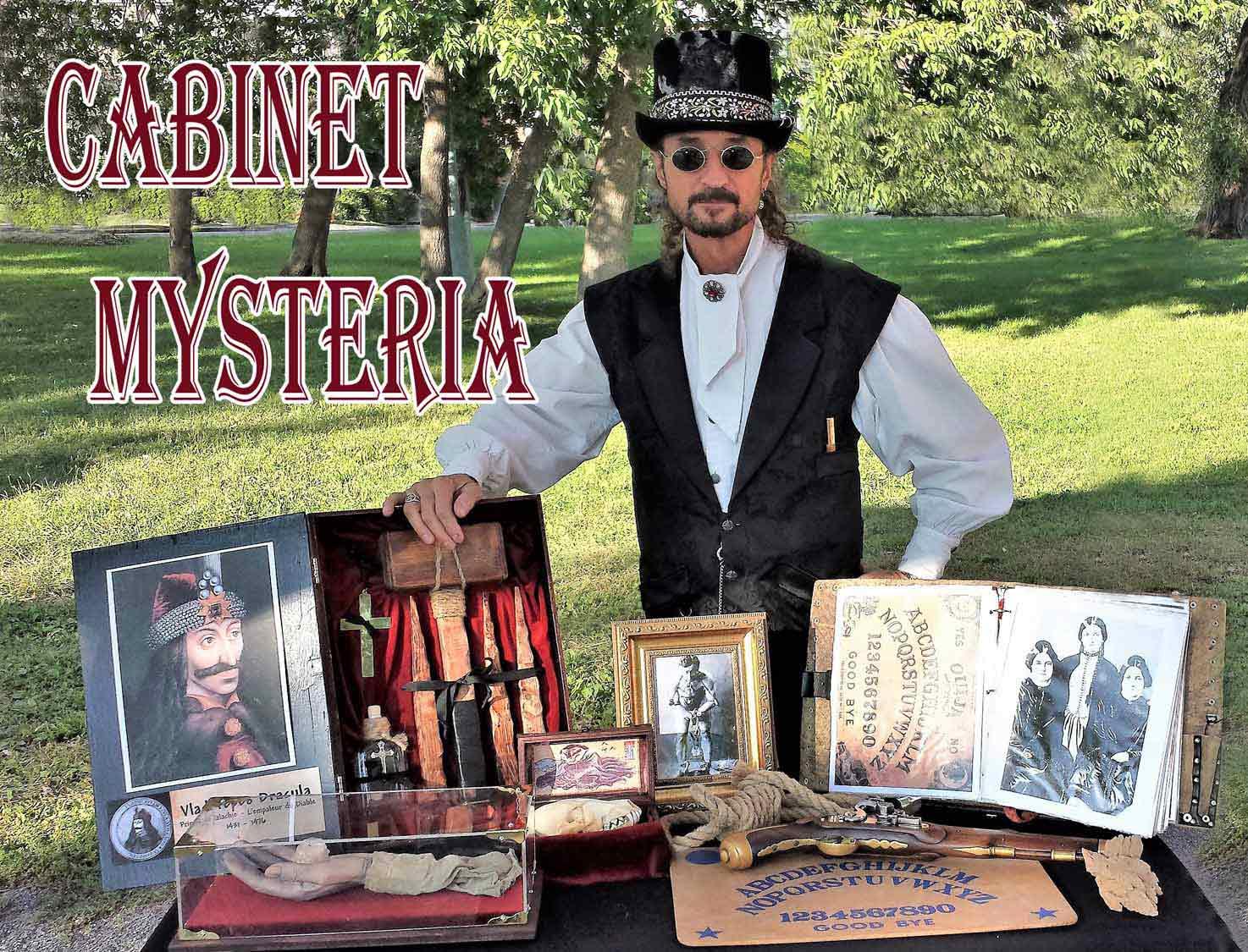 Cabinet of Curiosities Mysteria