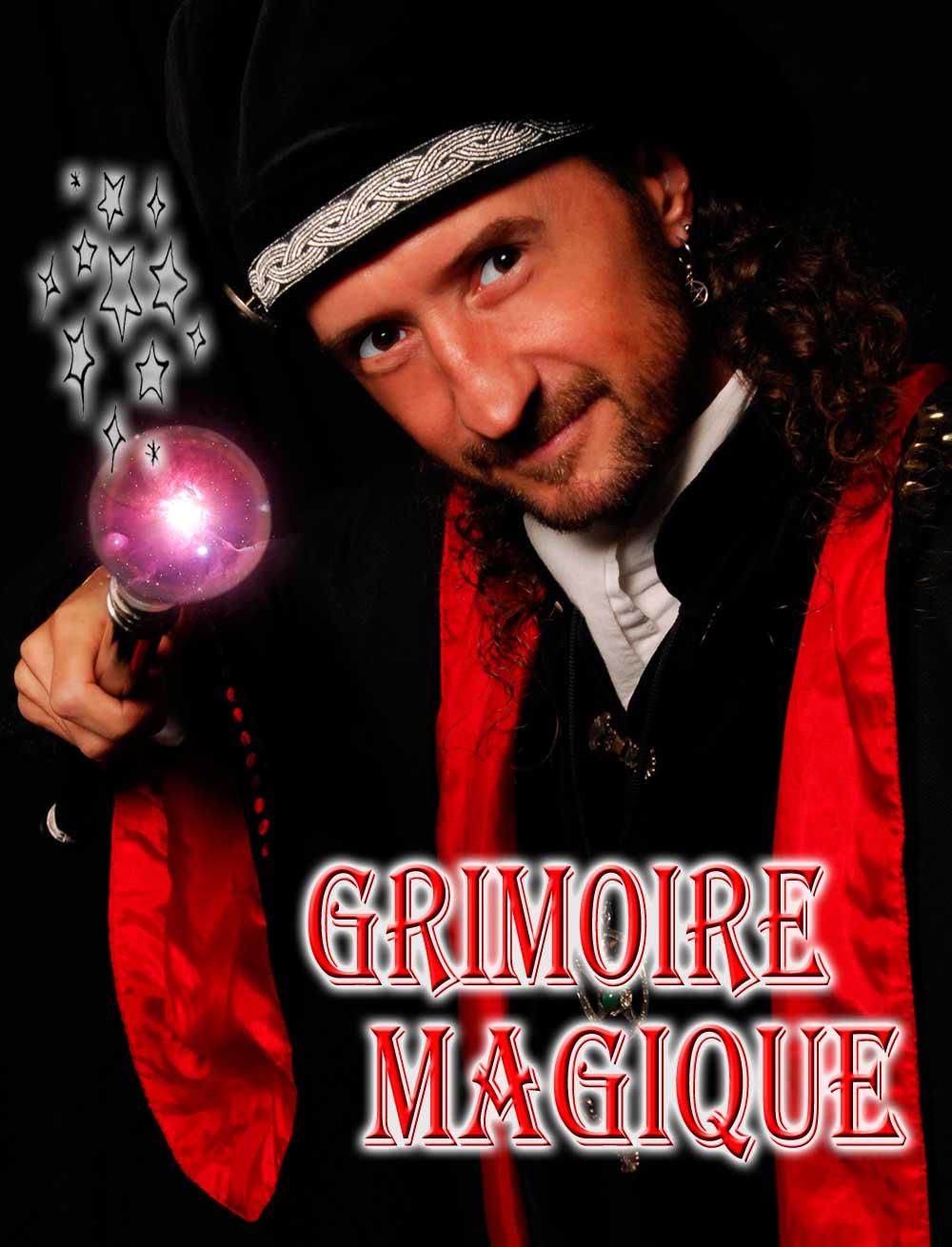Spectacle de magie Grimoire magique, loran magicien illusionniste