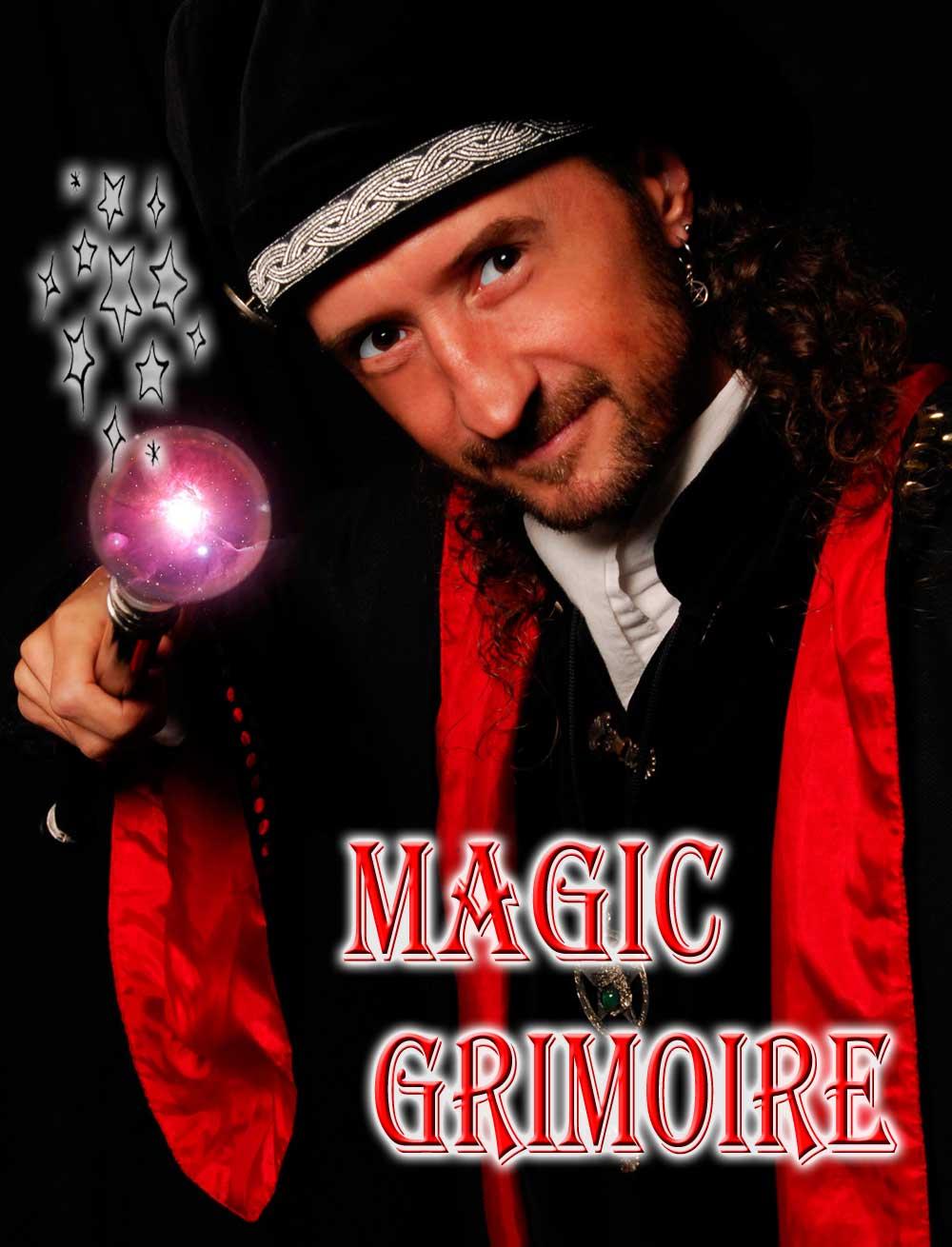Loran magician illusionist, Magic Grimoire magic shows